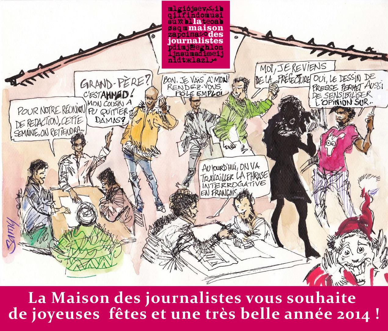 la maison des journalistes un refuge pour journalistes exil 233 s page 2