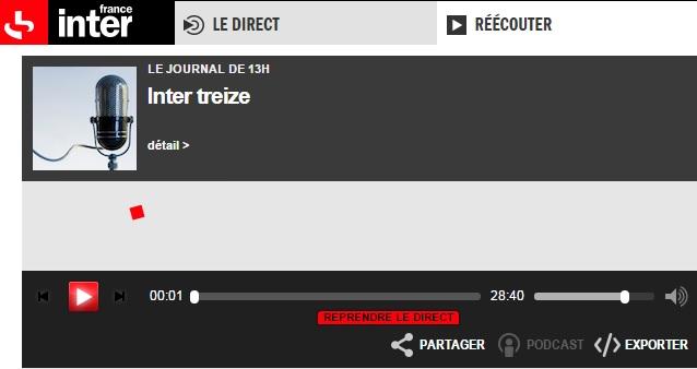 france inter podcast
