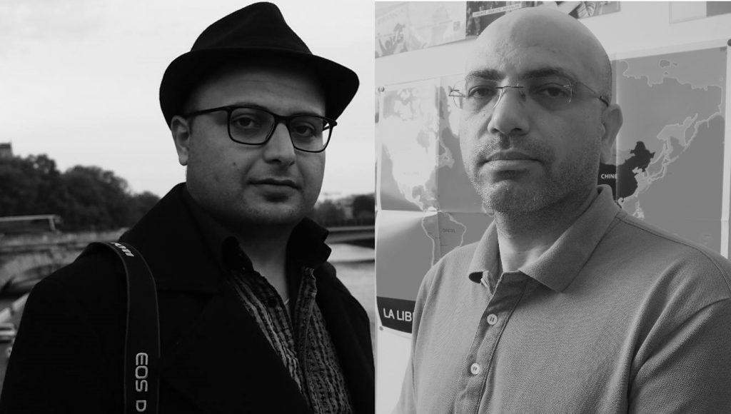 Halgurd Samad et Sakher Edris