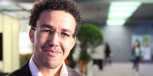 Hicham Mansouri aux assises du journalisme © Mathilde ERRARD