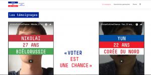 #Voterestunechance © Voter est une chance