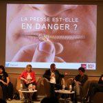 UP Conference « Journalistes : le quatrième pouvoir en danger ? » © Stefano Lorusso